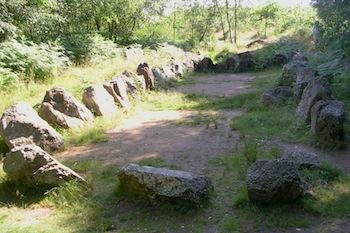 stage géobiologie Brocéliande jardin aux moines